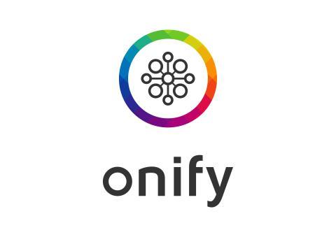 Onify logo - Vertical