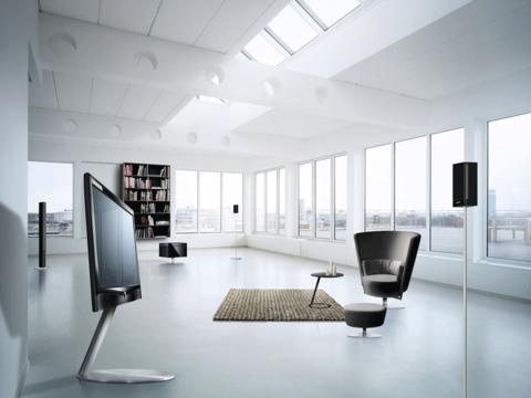 Loewe Art LED tv i livingroom