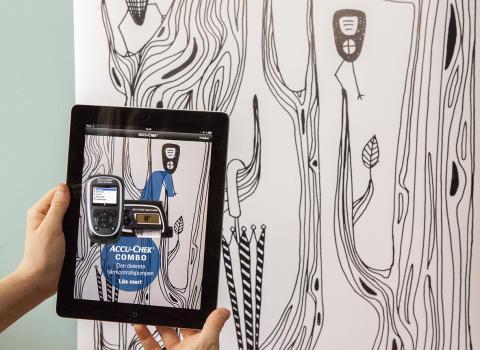 Accu-Chek lanserar app med virtuell mässmonter på Diabetesforum 2013