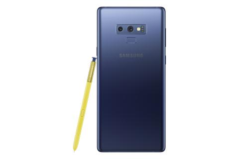 Samsung Galaxy Note9_back_pen_blue