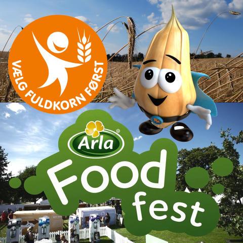 Kom og lav en brødselfie på Arla Food Fest