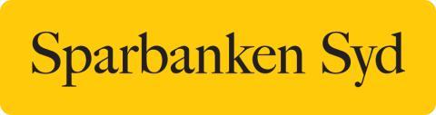 Logotype mot gul platta