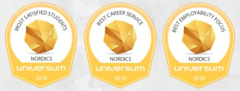 Here are the universities in the Nordic countries with the most satisfied students