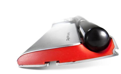 RollerMouse anbringes foran dit tastatur, så du slipper for at række ud efter musen.