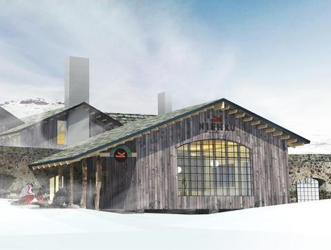 Krook & Tjäder ritar äventyrshotell vid Riksgränsen