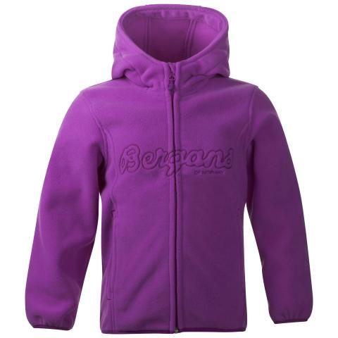 Bryggen Kids Jacket - Heather Purple/Dark Heather