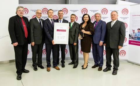 Bratislava retains Occupational Health Trophy as Volkswagen's safest plant