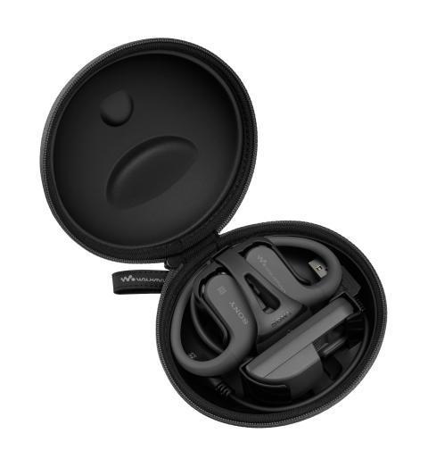WALKMAN NW-WS623 von Sony_schwarz_Soft Case