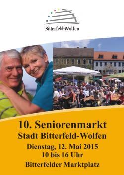 10. Seniorenmarkt der Stadt Bitterfeld-Wolfen