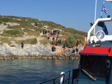 48 personer strandsatta på Samos