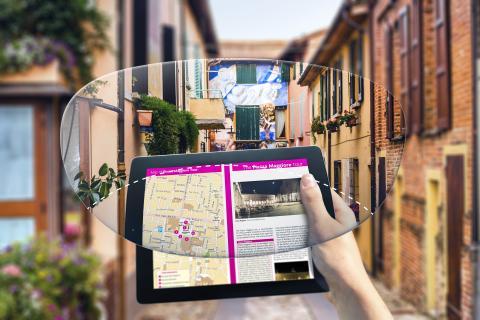 """SYNC III-glas med """"boost-område"""" för att minska digital överansträngning vid frekvent användning av digitala enheter."""
