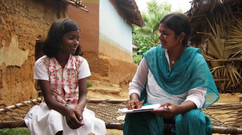 Intervju för undersökningen Small Voices - Big Dreams