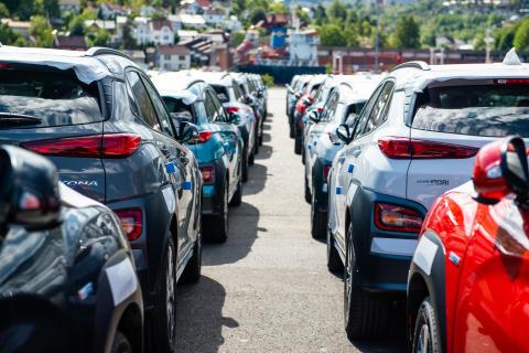 Hyundai KONA electric oppgraderes