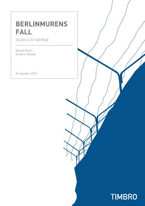 Berlinmurens fall – en bild av Sverige