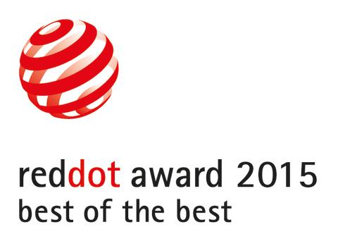 Red Dot 2015 Best of the best Award