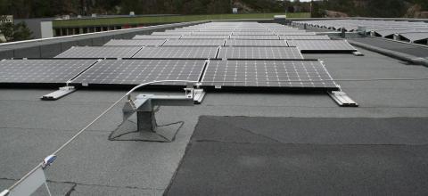 Solceller på taket