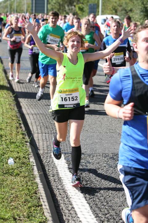 #sundayrunday - Meet Sarah, one of our Virgin London Marathon Runners