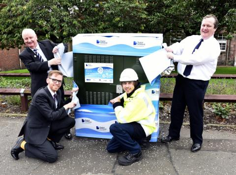 Tillicoultry's going superfast thanks to Digital Scotland