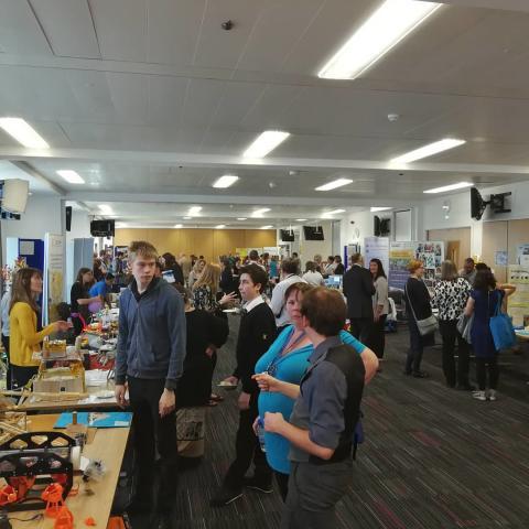 STEM event draws the crowds to Moray College UHI
