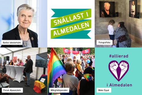 Finalister - Snällast i Almedalen 2019