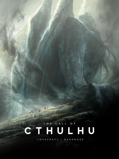 The End is Near - Final Day for the Kickstarter The Call of Cthulhu by Lovecraft & Baranger