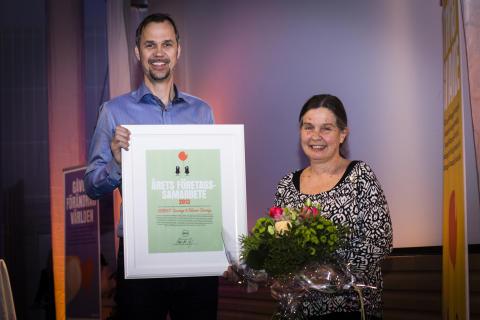 Årets företagssamarbete: ECPAT