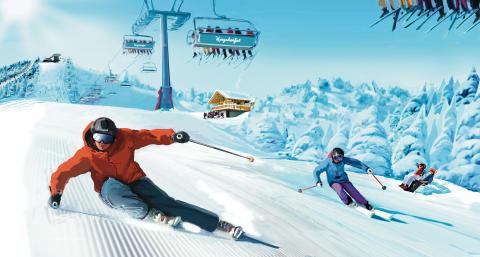 85 miljoner satsas på nytt skidområde och ny rekordlift till Kungsberget 2016/17