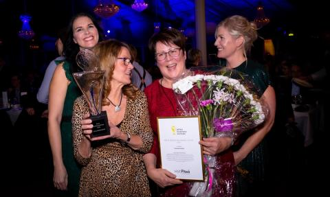 Årets besöksanledning i Piteå blev Solanderleden. Priset mottogs av Britt-Louise Nyman och Karin Stenvall. Priset delades ut av Viktoria Lundström och Charlotta Hedman Wallsten.