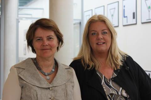 Ildikó Asztalos Morell och Lena-Karin Gustafsson