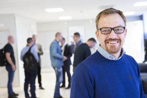 Håkan Palm, RPF Hydraulic AB i Upplands Väsby