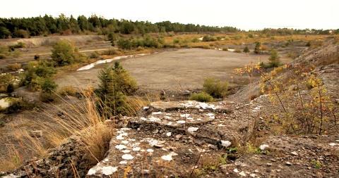 Fortsatt kalkstenstäkt i Slite tryggar det svenska samhällsbyggandet