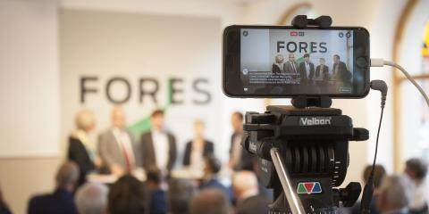 Pressinbjudan: Kommande seminarium på Fores – den gröna och liberala tankesmedjan