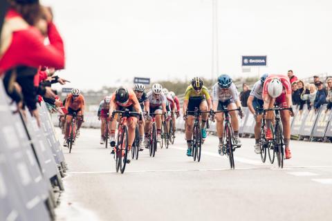Clara Lundmark slutar femma på  junior EM i landsväg