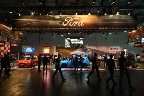 Ford på Gamescom 2017