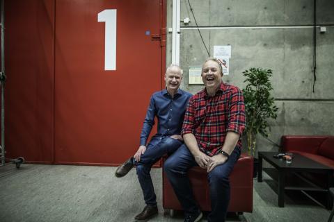 Robert och Anders