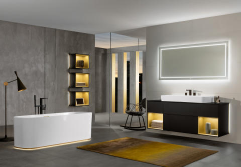 Well-being in the bathroom –  premium bathroom collections from Villeroy & Boch