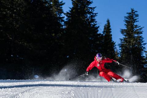 Kläppen SkiResort 2013 - Downhill skiløb
