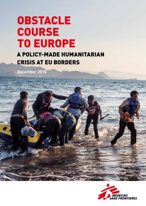 Flyktingrapport: Hinderbana till Europa
