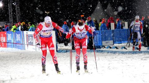 Mixed stafett, veksling Johannes-Tarjei, VM Kontiolahti 2015