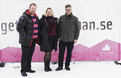Skoogs fastigheter AB väljer Nåiden Bygg för Träkronan