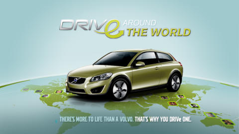 """DRIVe - around the World"" contest on Facebook"