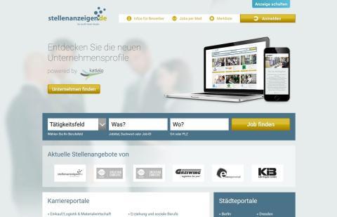 stellenanzeigenDE_Screenshot