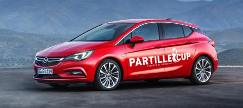 Opel blir ny Officiell bilpartner till Partille Cup