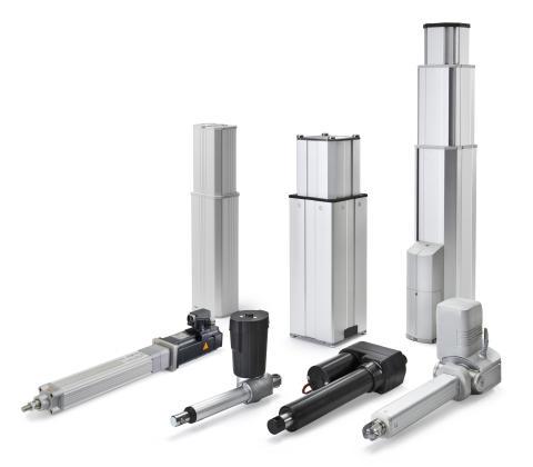 Actuators and pillars