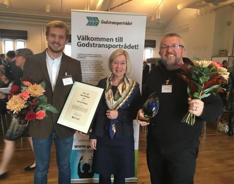 Godstransporterna är ute och cyklar - cykelåkeri vinner Årets Lyft 2016
