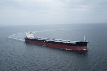 "Delivered the Group's 217th ""KAMSARMAX"" Bulk Carrier - TSUNEISHI SHIPBUILDING Co., Ltd."