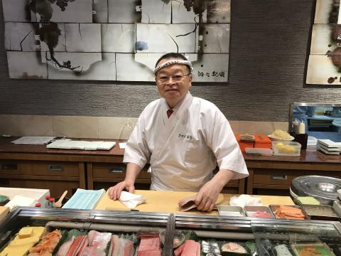 Sushimester Masyoshi Kazato