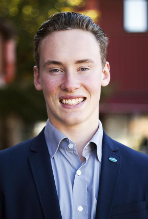 Alfred Appelros från Olofström valdes in i Företagarna riks valberedning