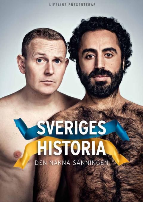 """Stort tryck efter biljetter, Måns Möller och Özz Nûjen släpper extra föreställningar av """"Sveriges historia"""""""