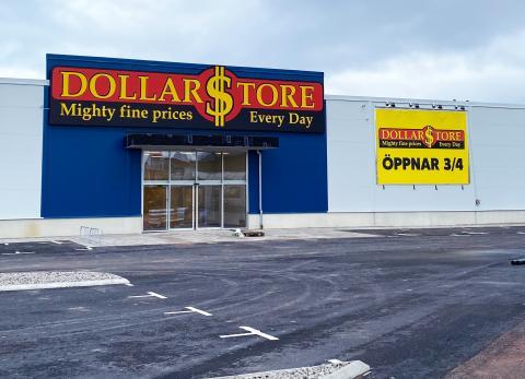 DollarStore öppnar på Öland